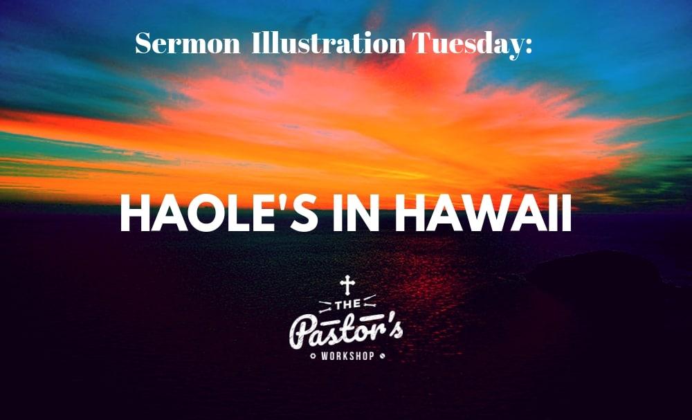 Sermon Illustration Tuesday (1.8)