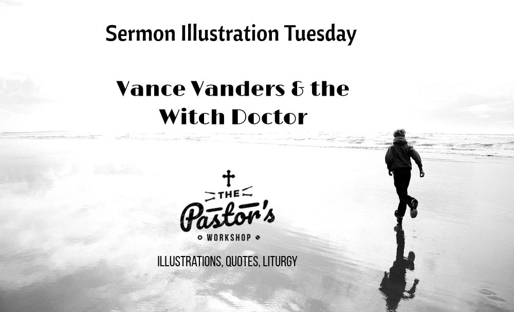Sermon illustration Tuesday (3.19)